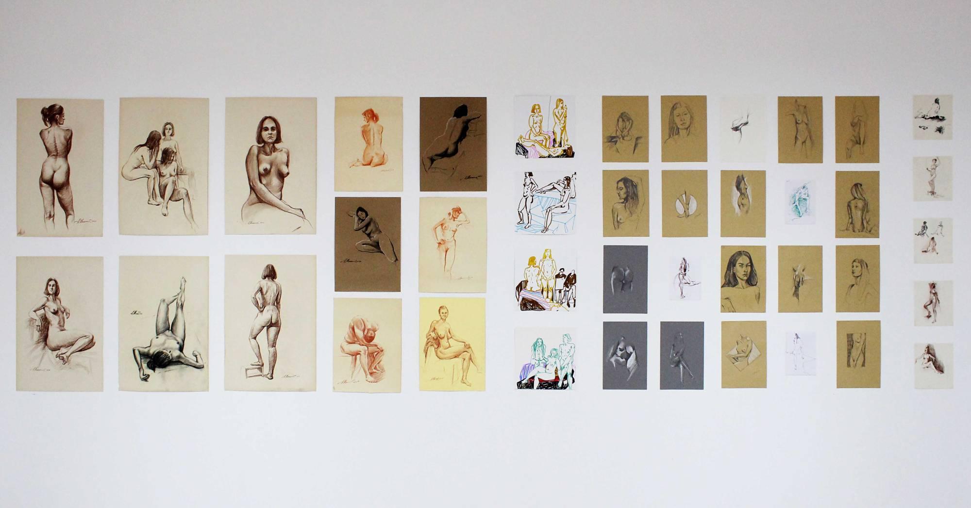 У Франківську відкрили виставку вечірнього рисунку (ФОТО)