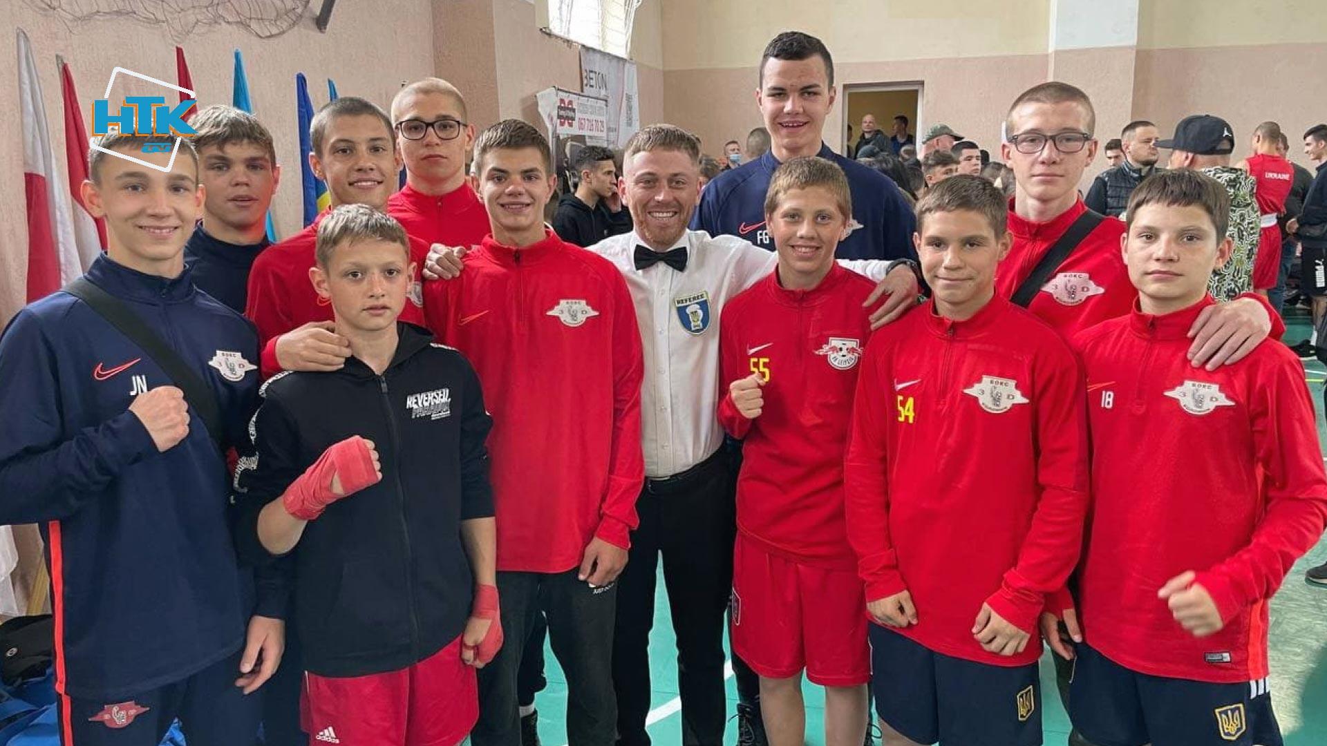 Десять нагород вибороли коломийські боксери на Міжнародному турнірі (ВІДЕО)