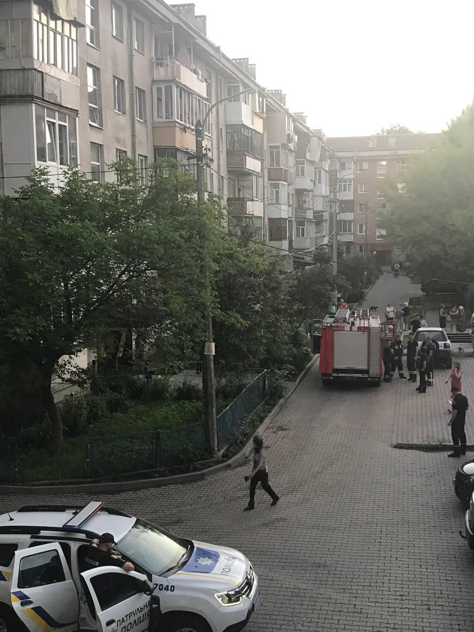 У Франківську чоловік збрехав про пожежу, бо не міг потрапити у свою квартиру - тепер чекає на штраф (ФОТОФАКТ)