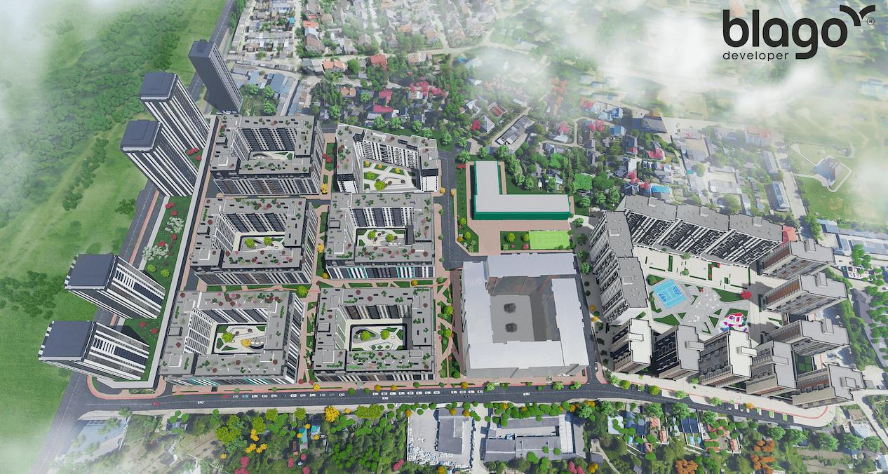 В Івано-Франківську розпочато будівництво і продаж нерухомостіу Manhattan UP