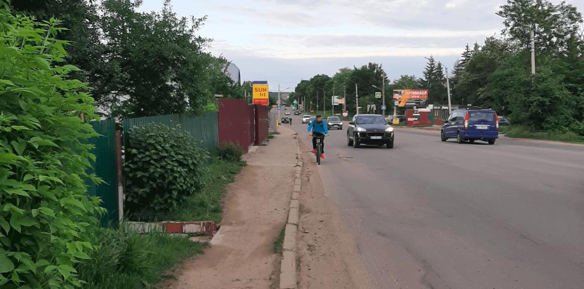 Пасічну та Каскад з'єднають велодоріжкою через Надрічну (ФОТО)