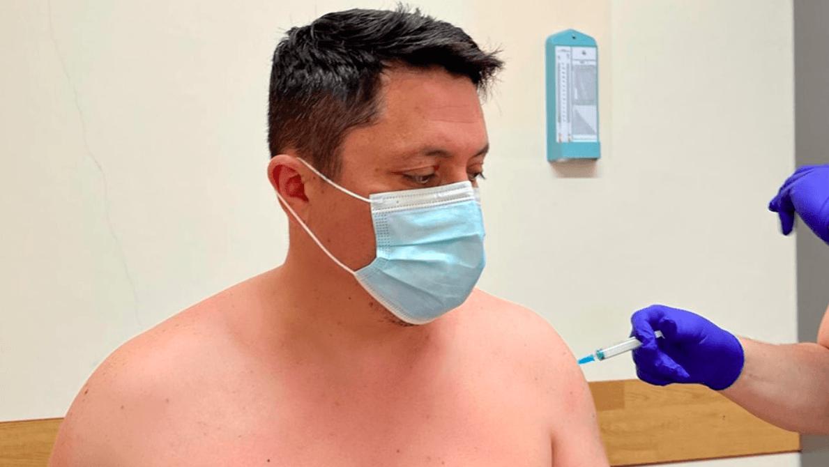 Стан не погіршився: Андрій Бойчук зробив друге щеплення відCOVID-19 (ФОТОФАКТ)