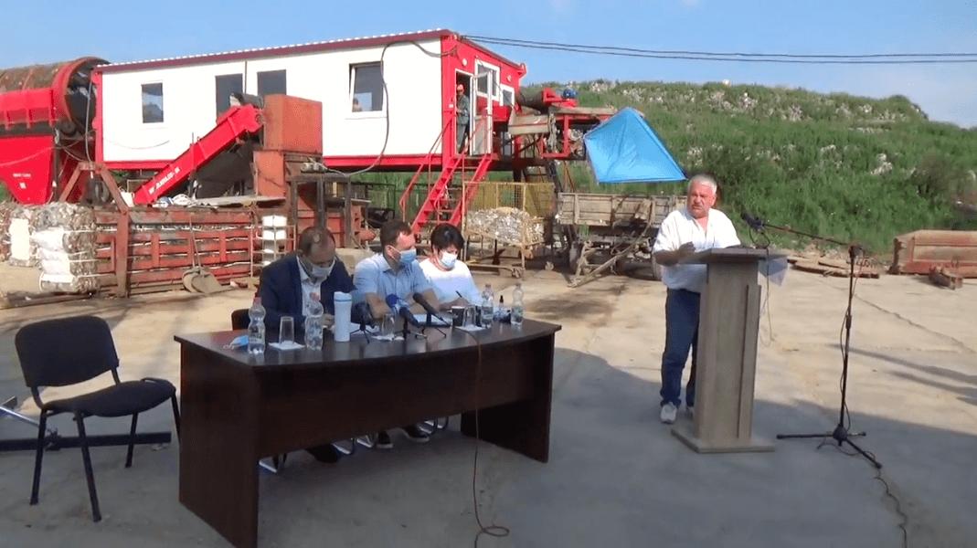 Марцінків влаштував нараду на сміттєзвалищі (ВІДЕО)