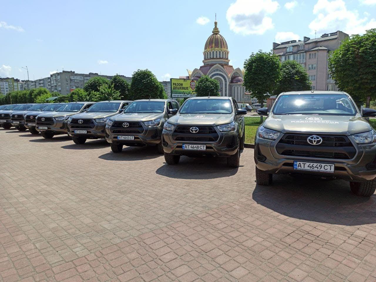Німеччина підтримала Карпатський національний парк п'ятьма автомобілями (ФОТО)