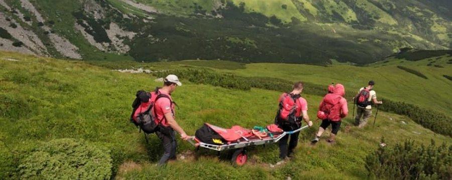 У Карпатах українські та польські рятувальники вчилися допомагати травмованим туристам