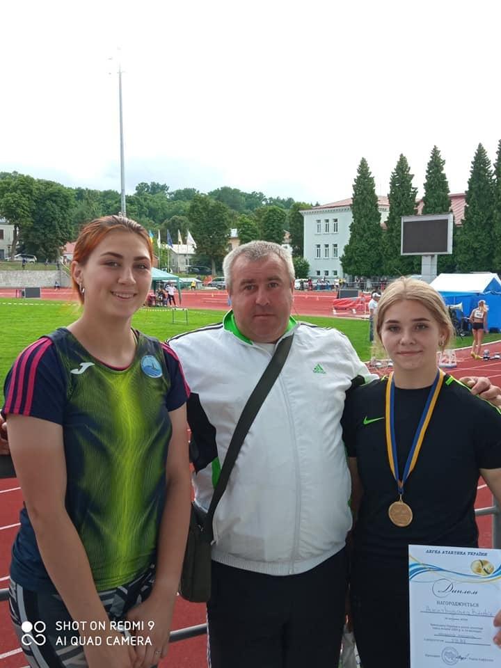 Прикарпатці везуть дві медалі юнацького чемпіонату України з легкої атлетики (ФОТО)