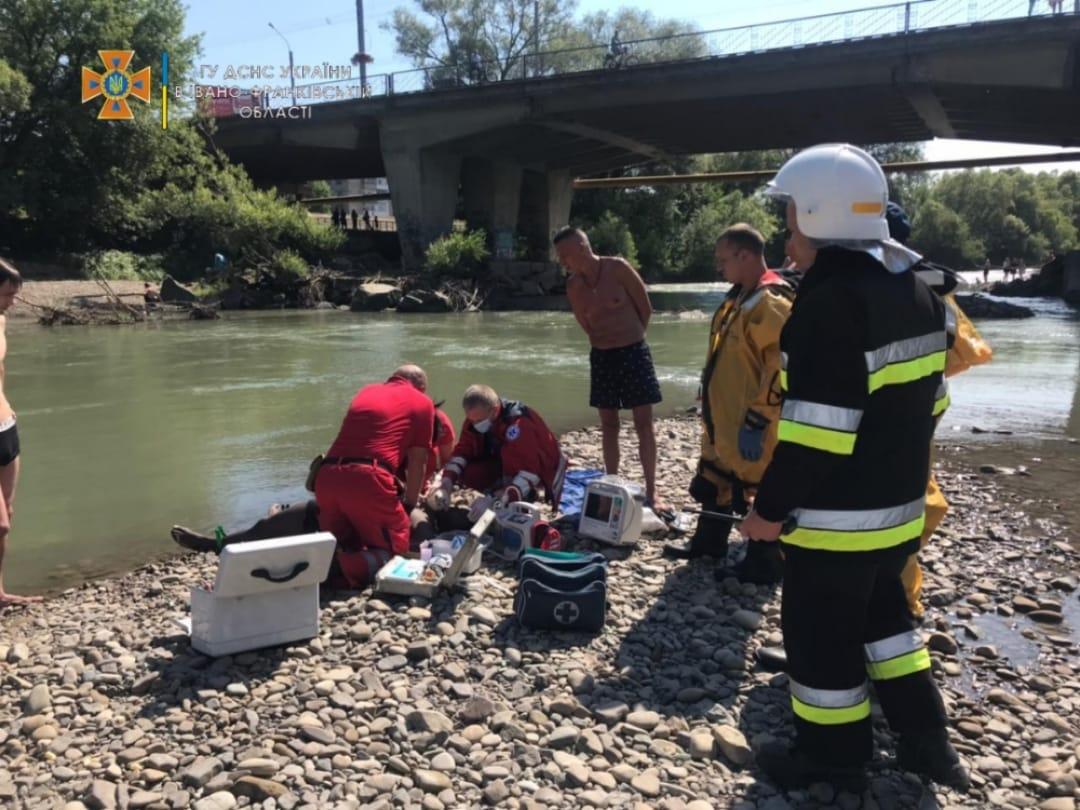 Вчора на річці у Пасічній потонув студент-іноземець (ФОТОФАКТ)