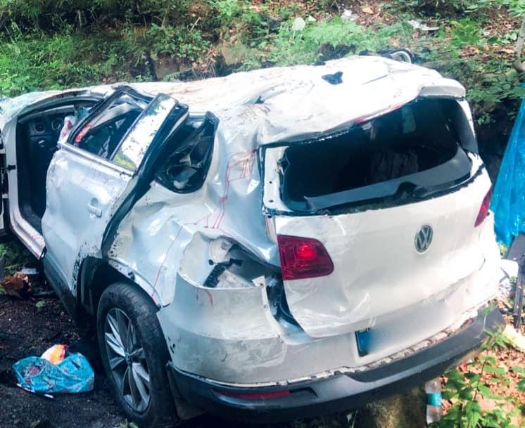 Чотири загиблі і авто у прірві: у Яремче автокатастрофа (ФОТО)