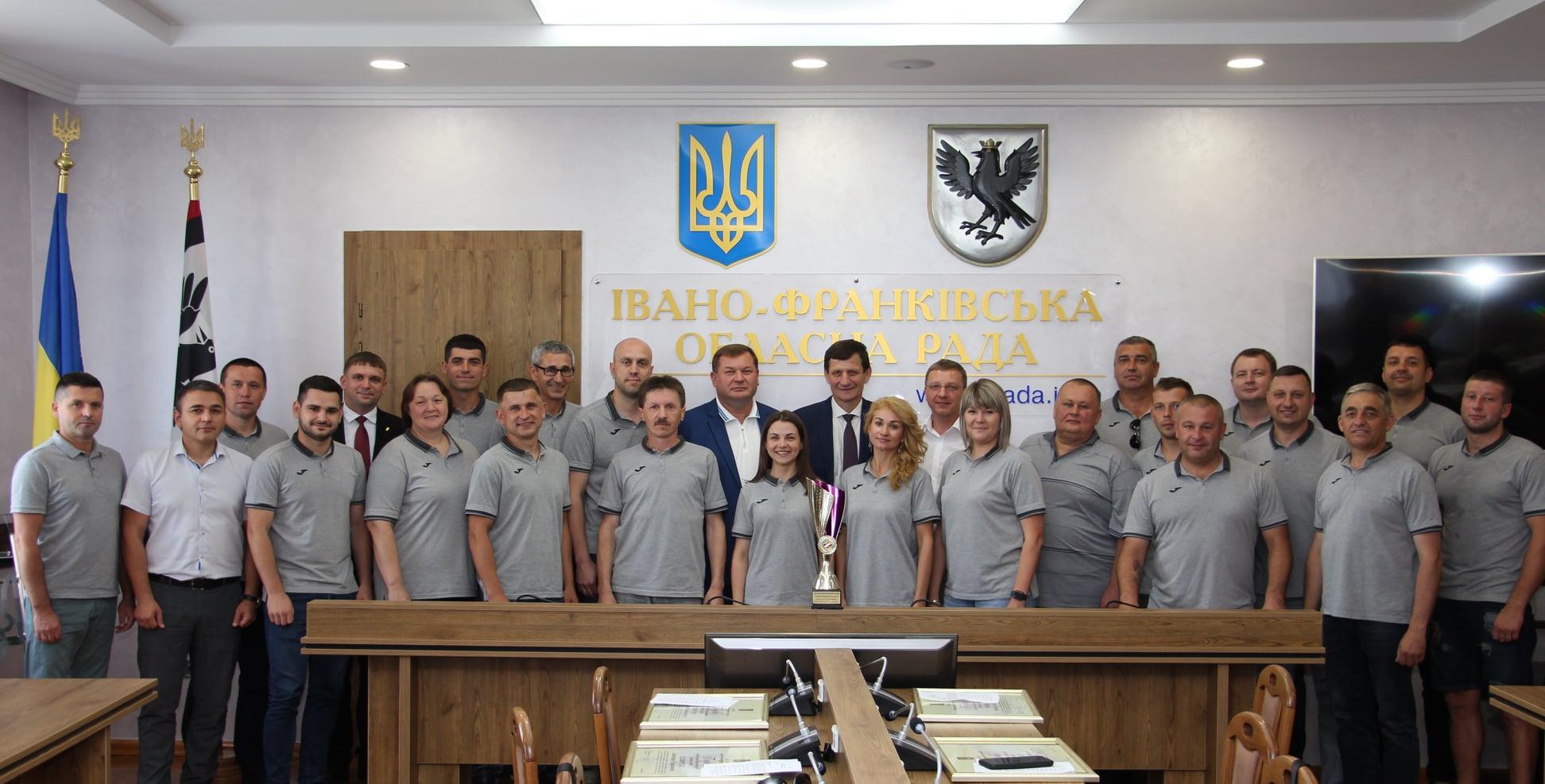 У Франківську відзначили депутатів-переможців IX Всеукраїнської спартакіади (ФОТО)