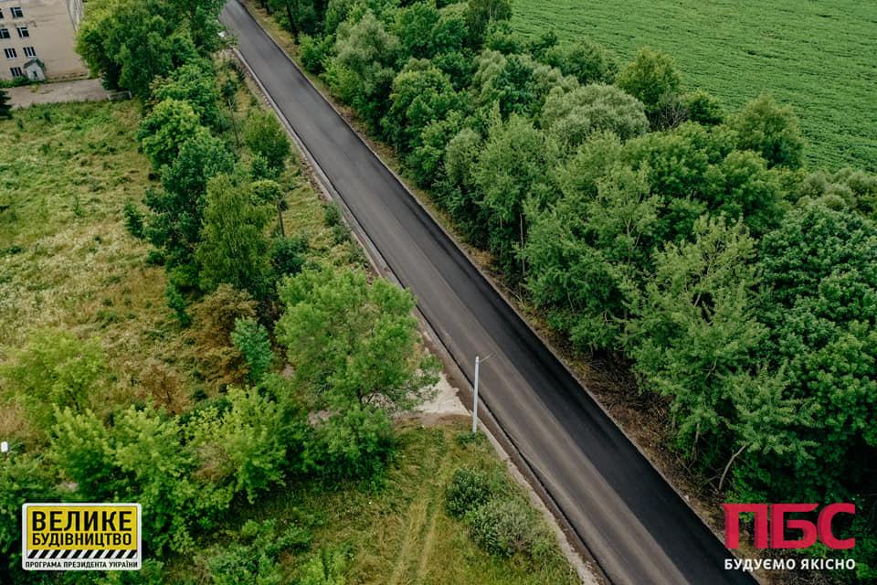 Ремонт дороги триває на Калущині (ФОТО)