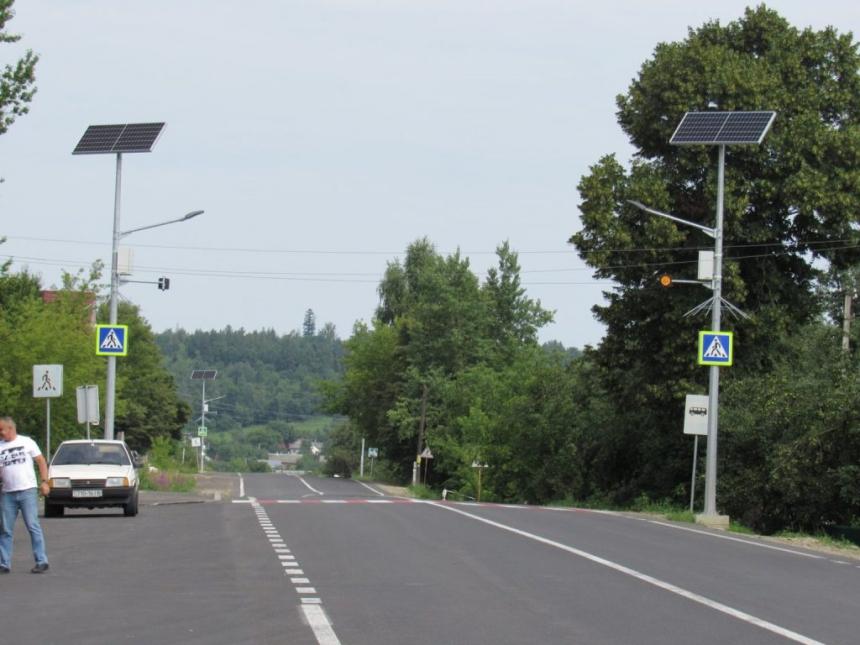 В області завершили ремонт дороги з Богородчан до Надвірної