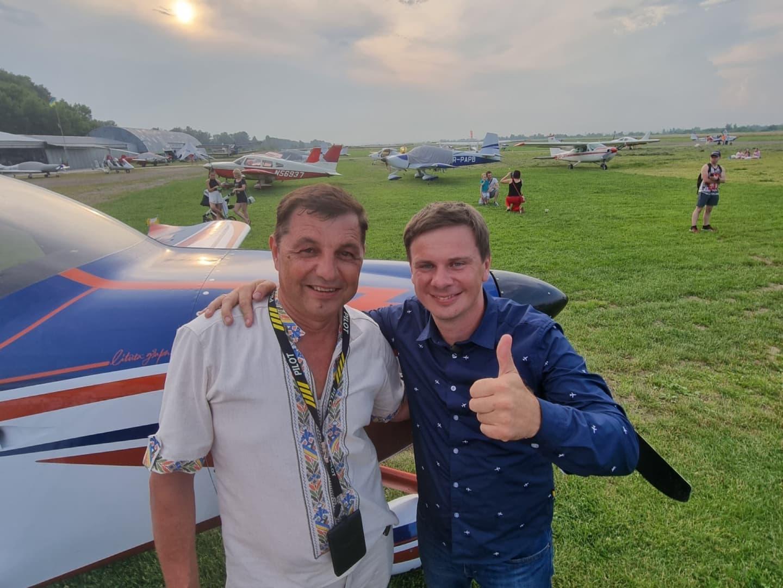 Відомий ведучий і мандрівник Комаров: коломийський аеродром має носити назву Ігоря Табанюка (ФОТО, ВІДЕО)