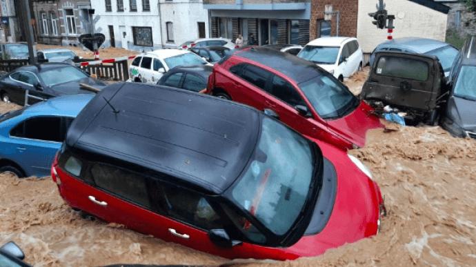 Бельгію знову накрили потужні повені (ФОТО, ВІДЕО)