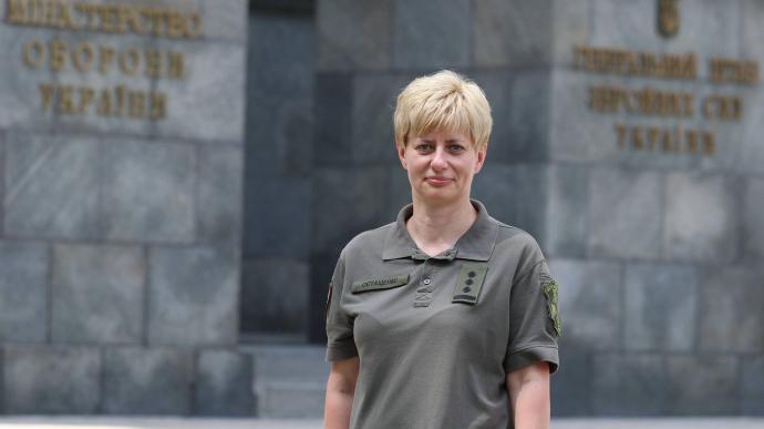 Першу жінку-командувача призначили у ЗСУ