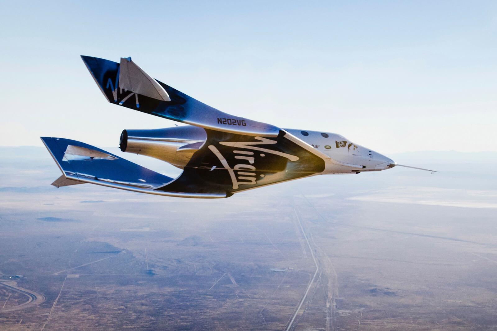 Мільярдер Бренсон полетів у космос на власному ракетоплані Unity (ВІДЕО)