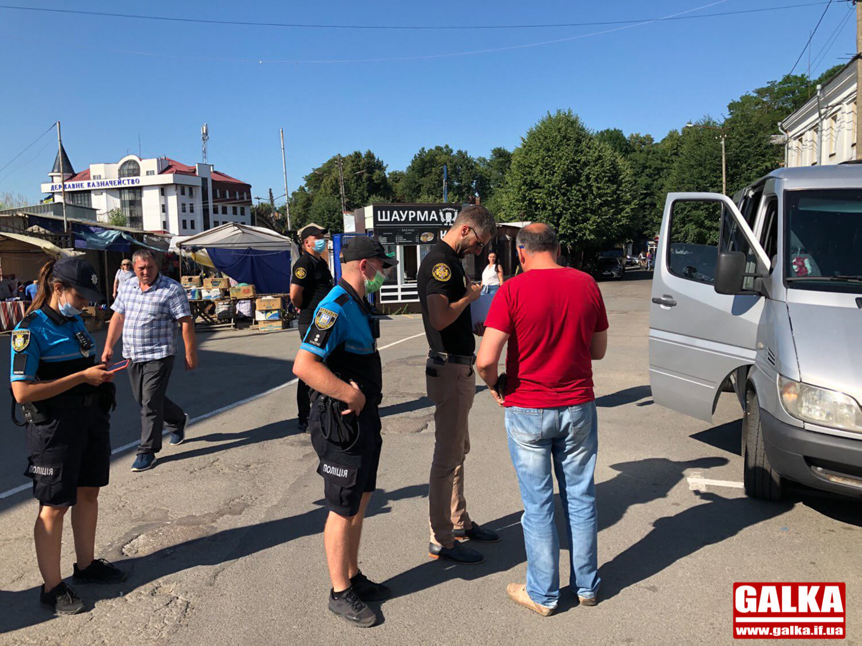 У центрі Франківська шукали нелегальних перевізників – і знайшли (ФОТО)