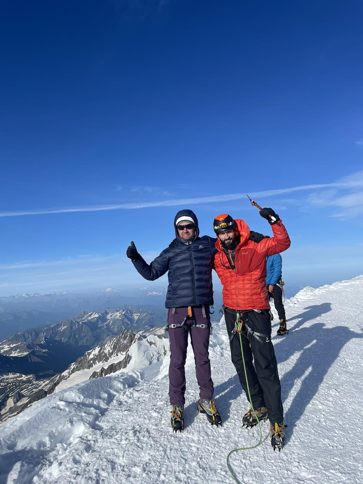 Франківці Микола Ковальчук і Тарас Боднарчук зійшли на найвищу гору Альп – Монблан (ФОТО)