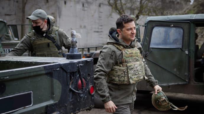 Зеленський змінив начальника Генштабу, командувачів ООС та ДШВ