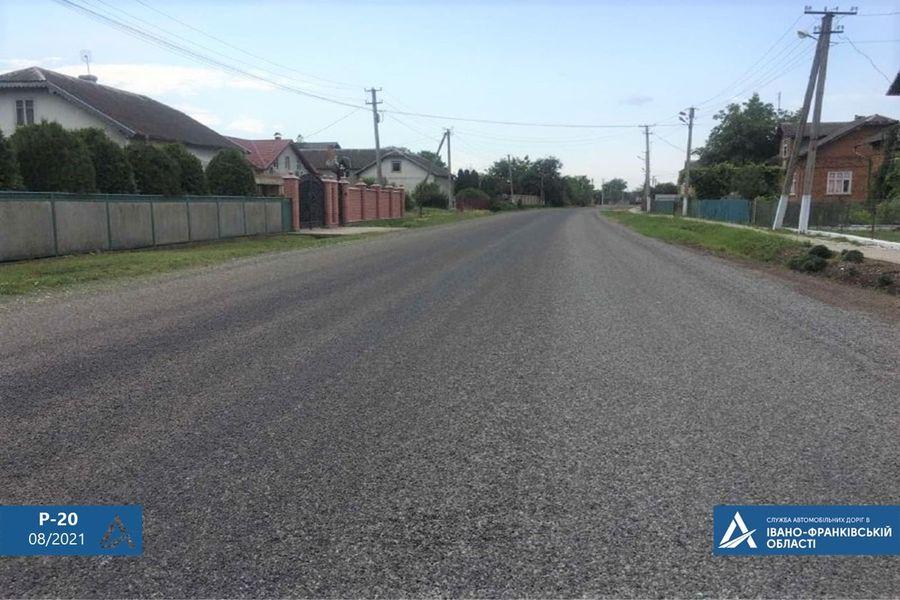 У селі в Івано-Франківському районі відремонтували дорогу (ФОТО)