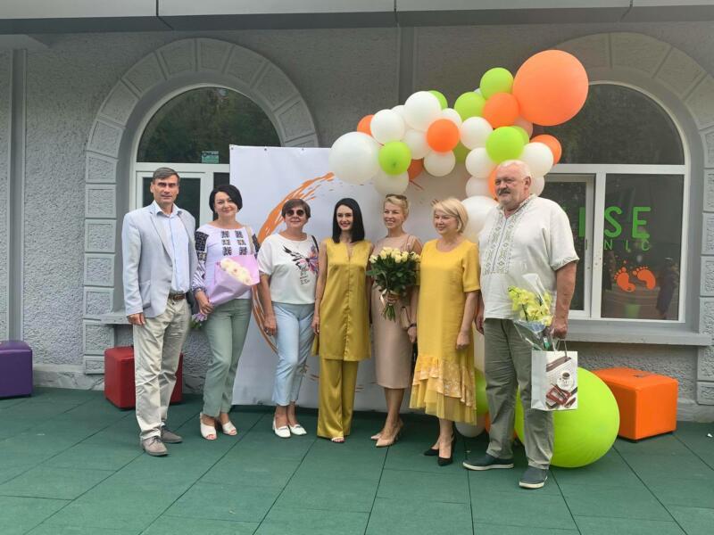 VISE: в Івано-Франківську відкрили клініку для дітей з сучасним дизайном та новітніми методиками лікування (ФОТО)