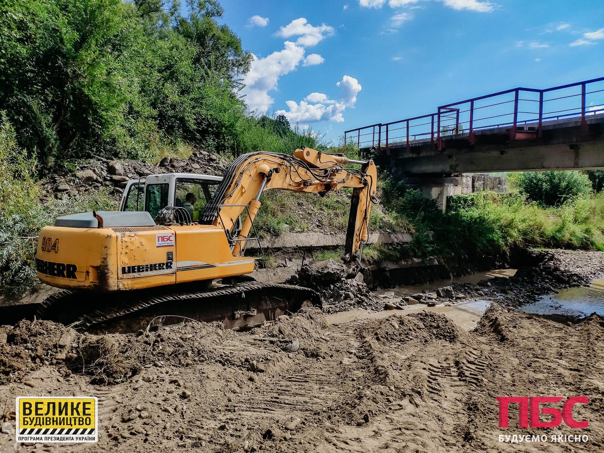 Один з найскладніших мостів в області відремонтують на Надвірнянщині (ФОТО)