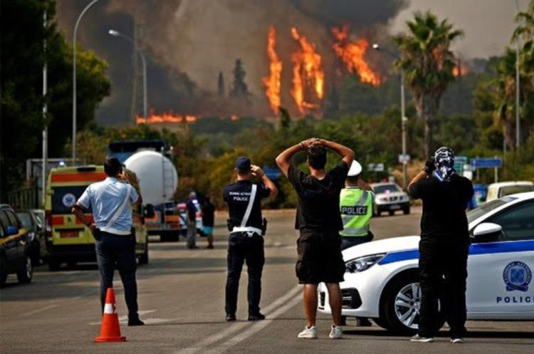 Європа у вогні: ліси горять в Албанії, Південній Македонії та Болгарії