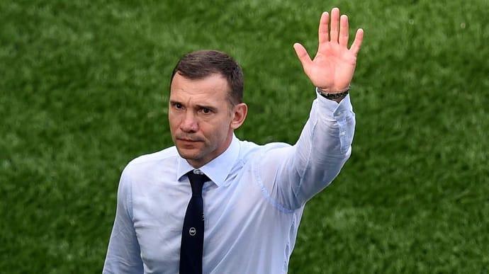 Шевченко залишає збірну України з футболу