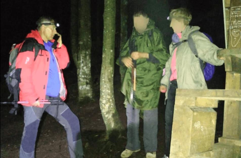 Вночі на Хом'яку блукали двоє туристів з Київщини (ФОТОФАКТ)