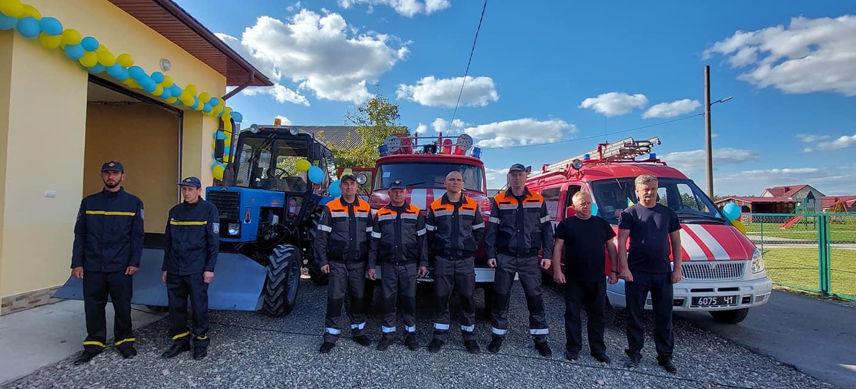 У Хриплині відкрили протипожежний Центр безпеки (ФОТО)