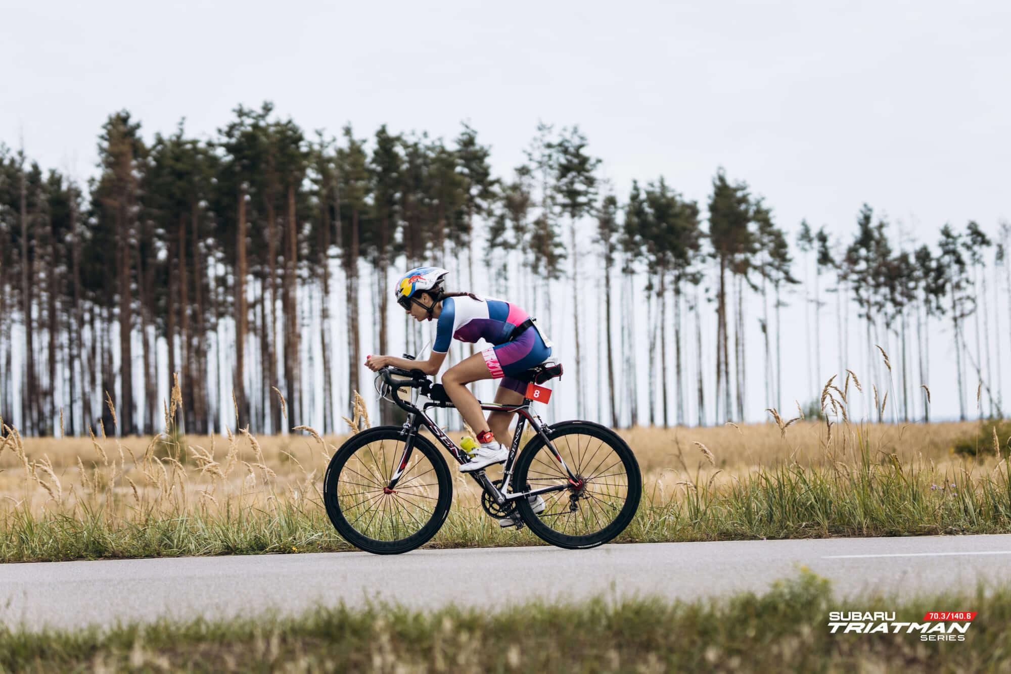 Прикарпатка стала чемпіонкою України з тріатлону