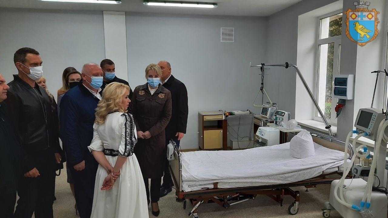 У Бурштинській лікарні відкриливідділення екстреної медичної допомоги (ФОТО)