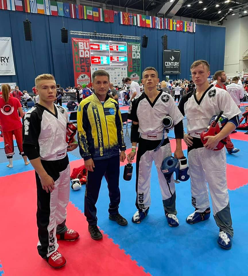 Прикарпатці у складі збірної посіли друге місце на Кубку світу з кікбоксингу WAKO (ФОТО)