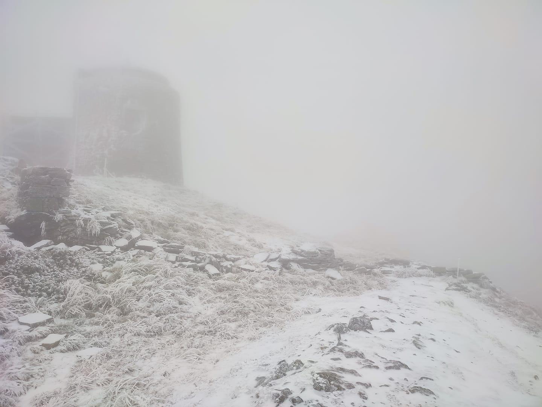 У Карпатах випав перший осінній сніг (ФОТОФАКТ)