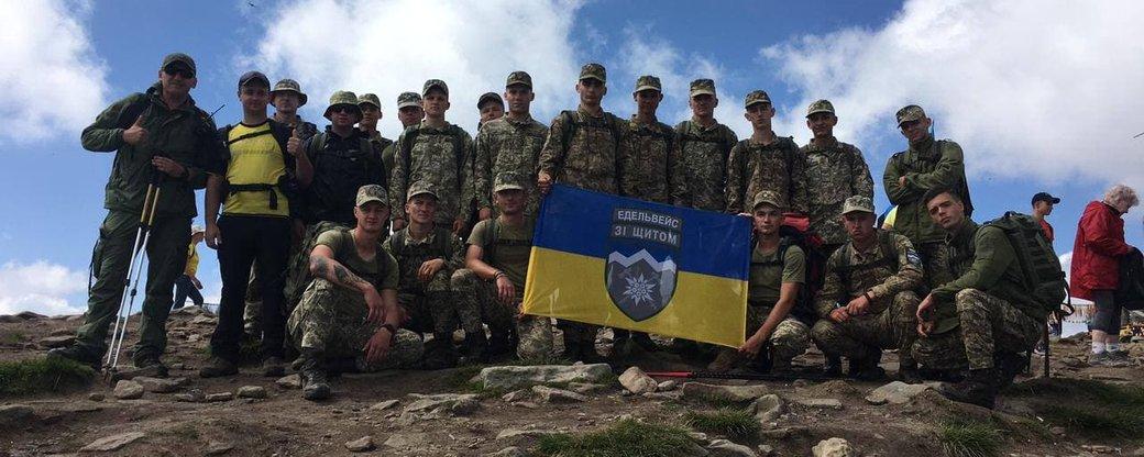 """Бійці прикарпатської """"десятки"""" перемогли у змаганнях із найшвидшого сходження на Говерлу (ФОТО)"""