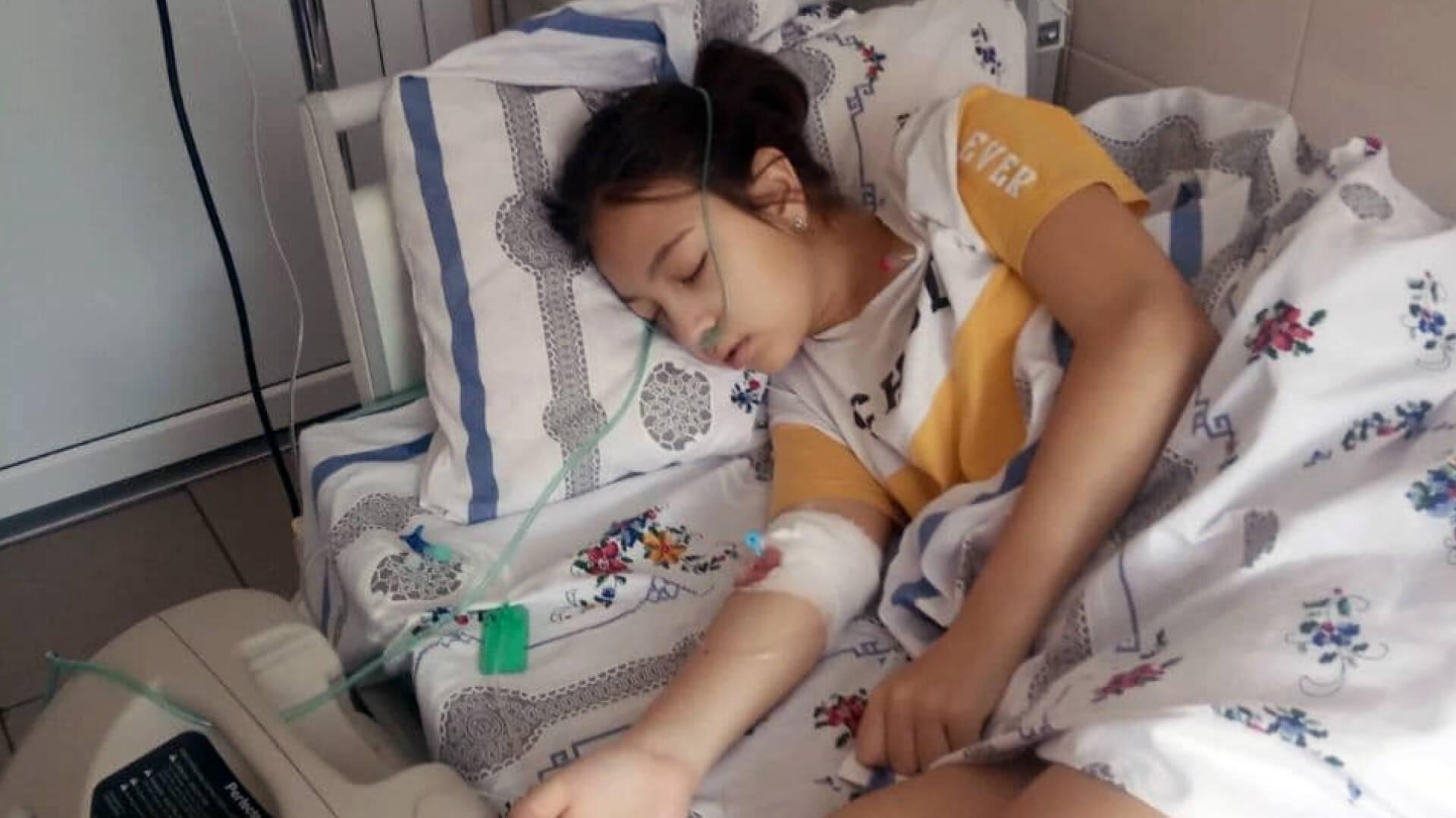У 12-річної прикарпатки діагностували рак крові: небайдужих просять допомогти (ВІДЕО)