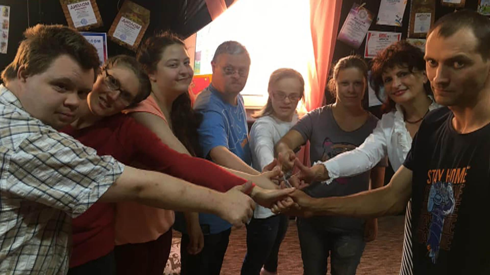 Інклюзивний театр створили у Коломиї (ВІДЕО)