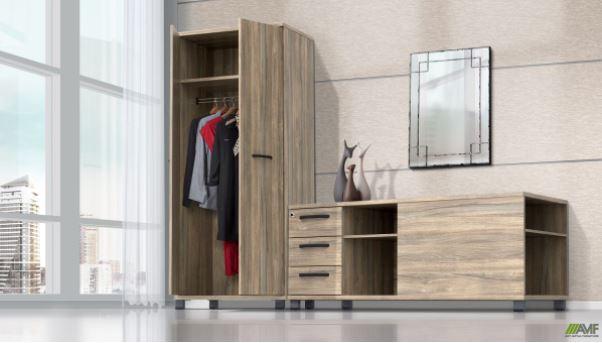 Дерев'яні шафи для одягу AMF: висока якість, функціональність та стильний дизайн