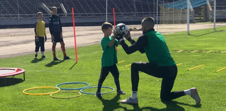 Як у Франківську функціонує перша школа воротарів (ВІДЕО)