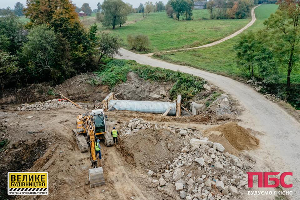 На Косівщині почали будувати міст, на який жителі чекали 13 років (ФОТО)