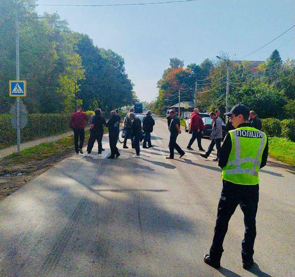 """Дорогу """"Стрий-Мамалига"""" у Болехові розблокували – поліція"""