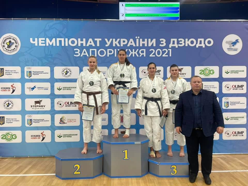 Прикарпатські дзюдоїсти привезли дві нагороди з Чемпіонату України (ФОТО)