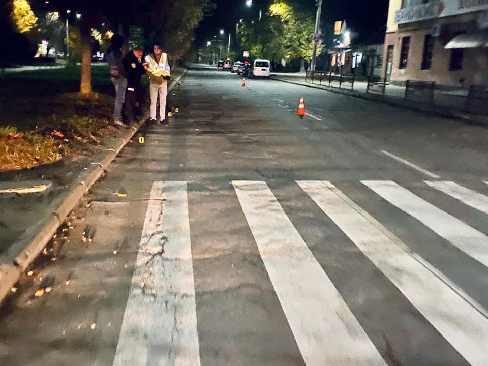 З'явилося відео ДТП у Калуші, в якій мотоцикліст на смерть збив дитину (ВІДЕО)
