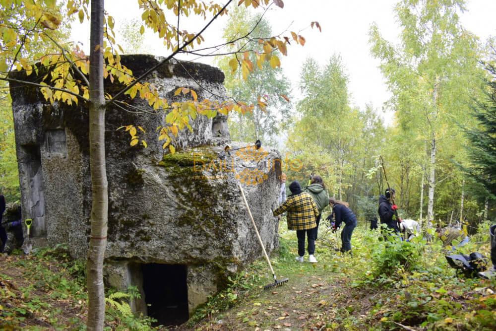 На Богородчанщині відновлюють оборонну лінію часів Першої світової (ФОТО)