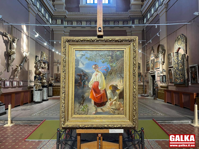 37 оригінальних картин Тараса Шевченка виставили в Івано-Франківську (ФОТО)