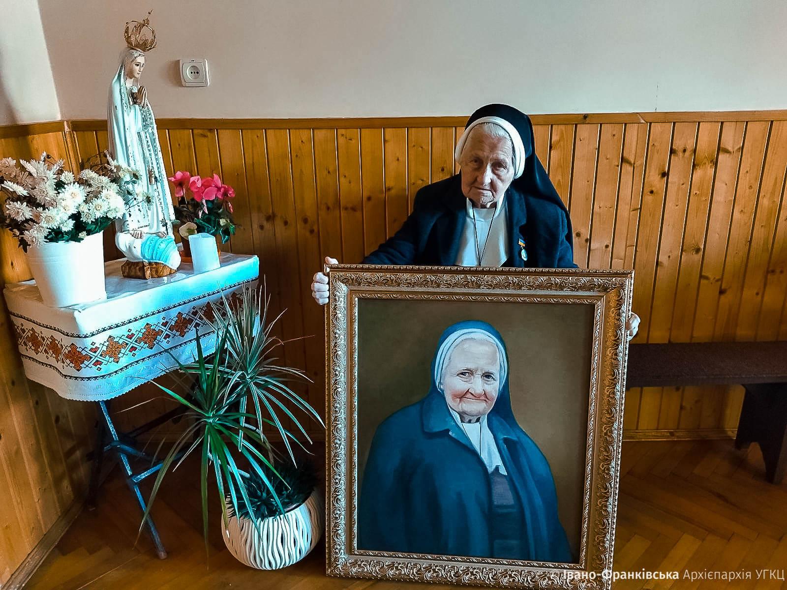 Першу настоятельку войнилівського монастиря привітали з 95-літтям (ФОТО)